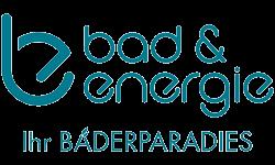 Badausstellung Innsbruck: Bad und Energie-Logo